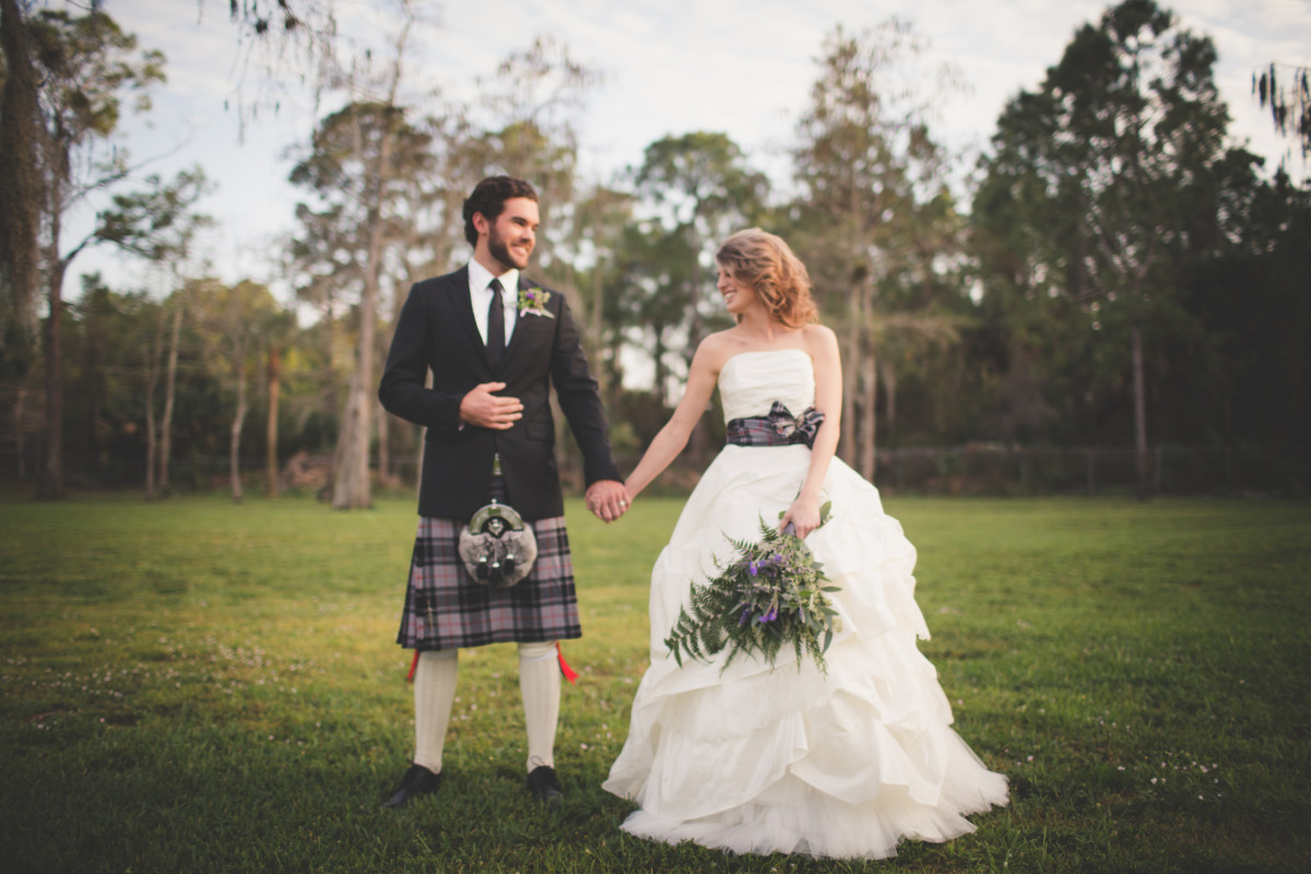 Naples Wedding Photography: Inspired Outlander Shoot